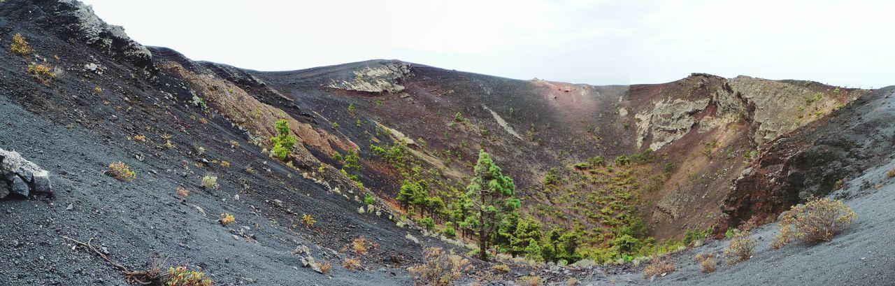 La Palma Volcano San Antonio Canary Islands Canarias Fuencaliente Panorama La Isla Bonita