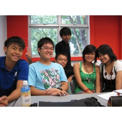 Some of my classmates and I during year 2!