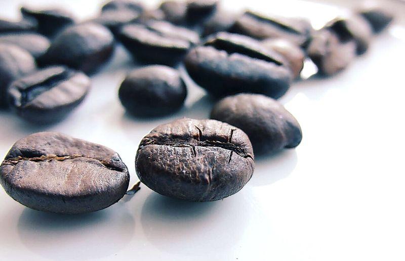 Coffee Macro Close-up Taking Photos Kaffebohne Kaffeepause