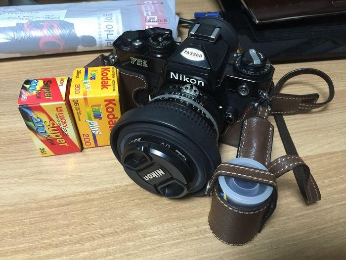 Film Filmcamera Fe2 Nikon Kodak Gold Plus200 Lucky Super 200 Hello World Hi! Taking Photos Iphone6+ Nikon Mf 50mm F1.2