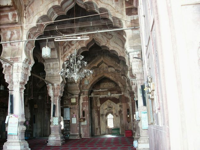 Taj Ul Mashjid Interior Ramzan