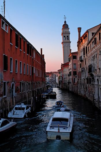 City Travel Destinations Architecture Travel Tourism Outdoors Vacations Venice Ltaly Venice, Italy Venice Italy Italy Photos Golden Hour Sunset Transportation Gondola Venice Canals Venice Gondola Canal Gondolier Gondola - Traditional Boat