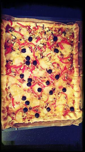 lecker vegani piizzzaaaa :P
