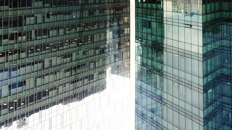 Architecture Building Exterior City Modern No People Seoul, Korea Upside Down EyeEm Diversity