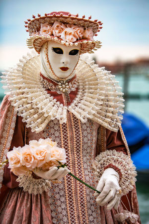 Carnival Carnival In Venice Venice, Italy Carnival Masks Day Focus On Foreground Mask - Disguise One Person Outdoors People Real People Venetian Event Venetian Mask Venetian Masks