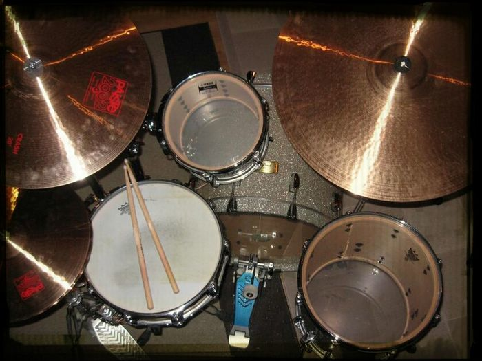 Drummer Rock'n'Roll Drums Rock