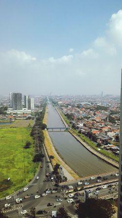 Surabaya City Surabaya City City Street City Skyline City View  Horizon Transportation Sky Aerial View City Life Java