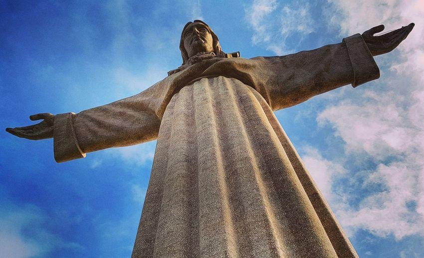 Statue in portugal
