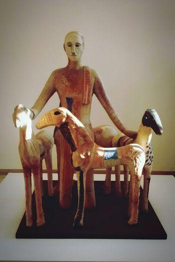 Ravenna Museum Paladino Sculpture