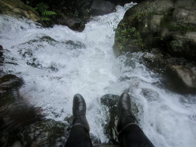 Should've climb here to take this kind of pic 😂😂😂 Water Human Leg Lifestyles Leisure Activity Low Section Human Body Part Nature Outdoors Real People One Person Waterfall Beauty In Nature Nature Alone Trip Alone In The Woods Alone Into The Unknown Explore Exploration Adventure Jungle Trips Jungle Jungle Trekking Environment Awe