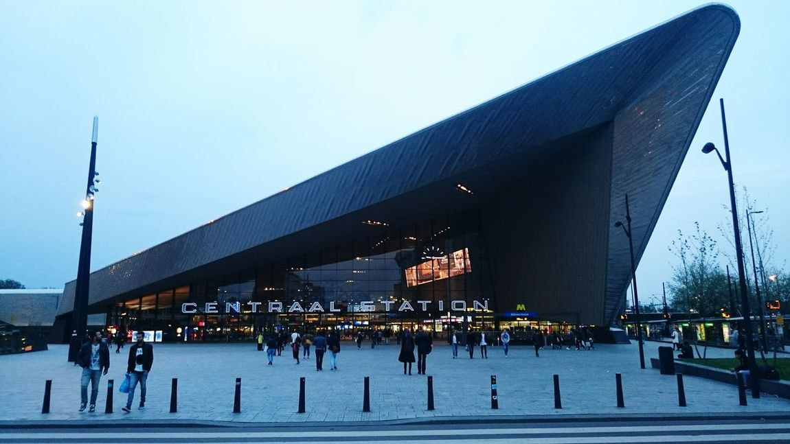 Rotterdam Centraal Station Rotterdam Centraal  Trip Architecture Streetphotography