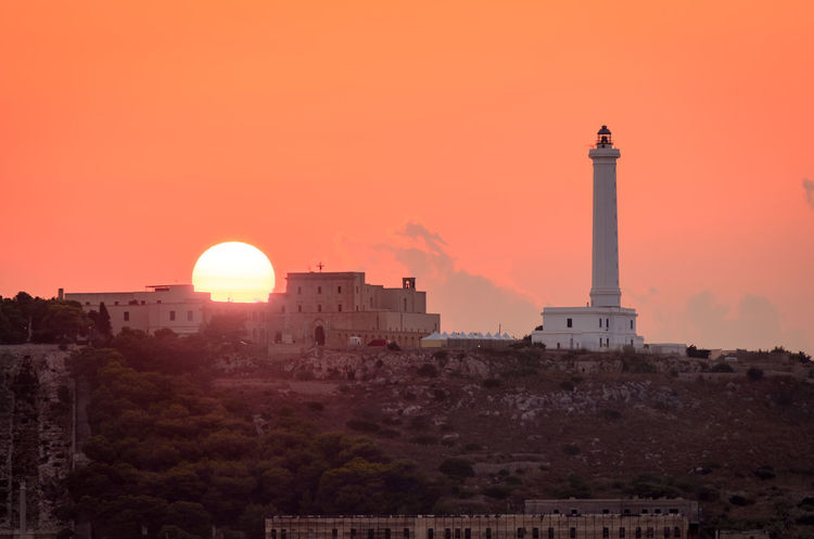 well, compression is everything sometimes I guess Cityscape Lighthouse Color Italy Landcape_collection Salento Sun Sunrise