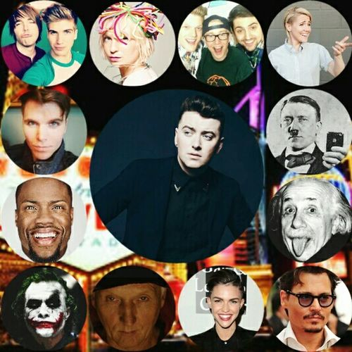 My friend told me to name 13 People To Go With To Vigas i did less i guess anyway SamSmith Superfruit Twaimz And The Others