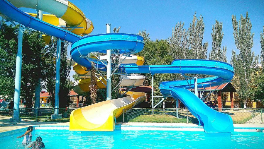 Swimming Pool Aquatic Park Water Park Water Toboganes Relax Day Water Slide Fun Parque Acuatico Agua Alberca Alberca Toboganes Alberca Con Toboganes