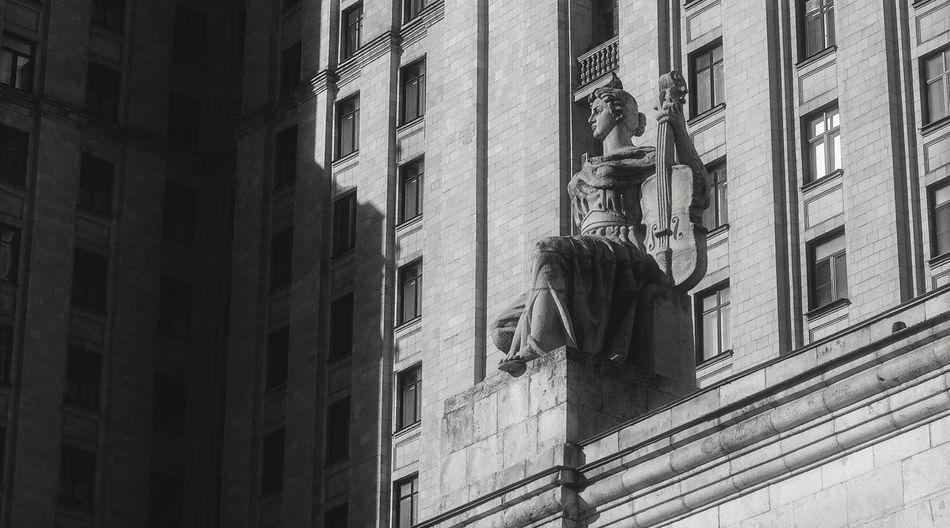 Skulptur Blackandwhite Building Old History скульптура чернобелое Photo Bnw_collection