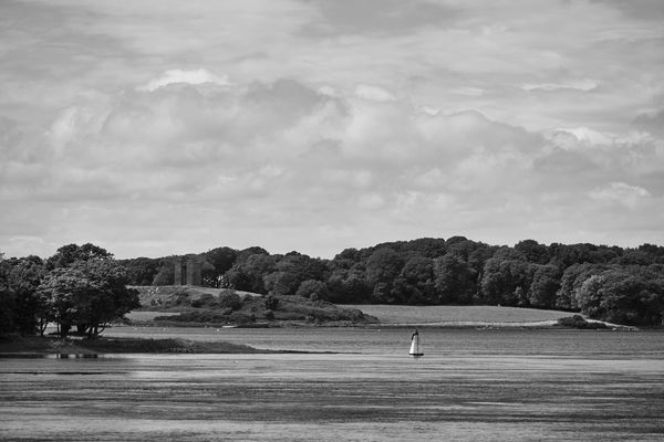 Audley's Castle Beauty In Nature Boat Castle Ward Cloud Cloud - Sky Cloudy Day Hill Idyllic Landscape Mode Of Transport Mountain Nature No People Non-urban Scene Outdoors Remote Scenics Sky Strangford Lough Tranquil Scene Tranquility Tree Water