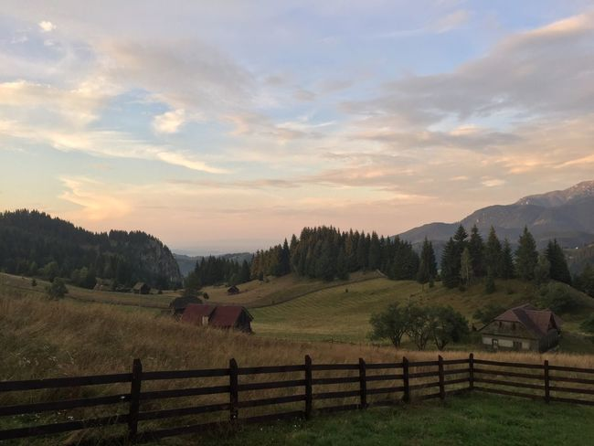 Agriculture Beauty In Nature Carpathians Cloud - Sky Day Field Grass Holiday Landscape Mountain Nature No People Outdoors Romania Rural Scene Scenics Sky Sunset Tranquil Scene Tranquility Travel Travel Destinations Tree Vacations EyeEmNewHere Neighborhood Map The Great Outdoors - 2017 EyeEm Awards Place Of Heart