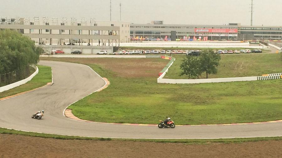 场地赛 弯道 摩托车 比赛 赛道