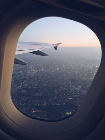 Wingview Window Flying Airplane Plane Aviation Aviationphotography Airbus Airbus A319 Eurowings Berlin TakeOff