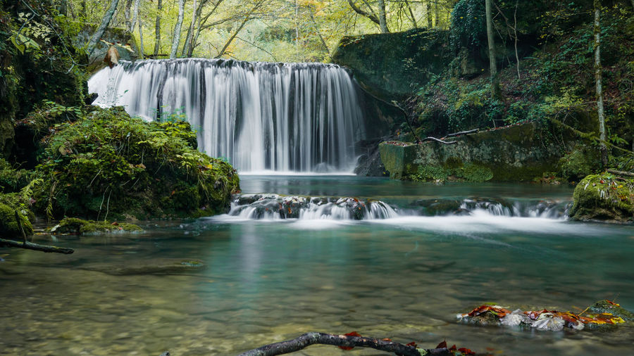 Water Tree Scenics - Nature Waterfall Motion Forest Long Exposure Beauty In Nature Flowing Water Nature Plant Environment Rock Flowing Blurred Motion Day Solid Land No People Outdoors Rainforest Stream - Flowing Water Power In Nature Falling Water