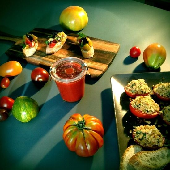 star of the day: variaties of tomatos Organic Food Vegan Vegetarian Food Thx4cooking