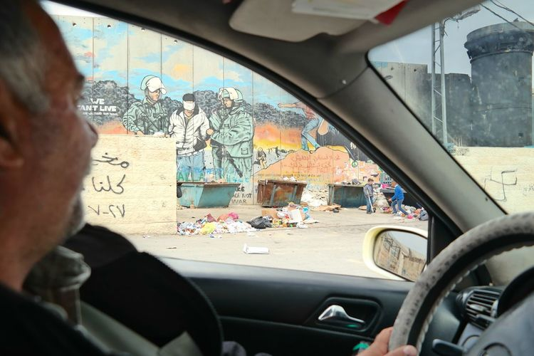 During a ride through the suburbs of a Palestinian city in the Westbank. Backyard Bethlehem EyeEm Best Shots EyeEm Gallery EyeEmBestPics Israel Occupation Palestine Photojournalism Taxiride Thewall Watchtower Huffington Post Stories