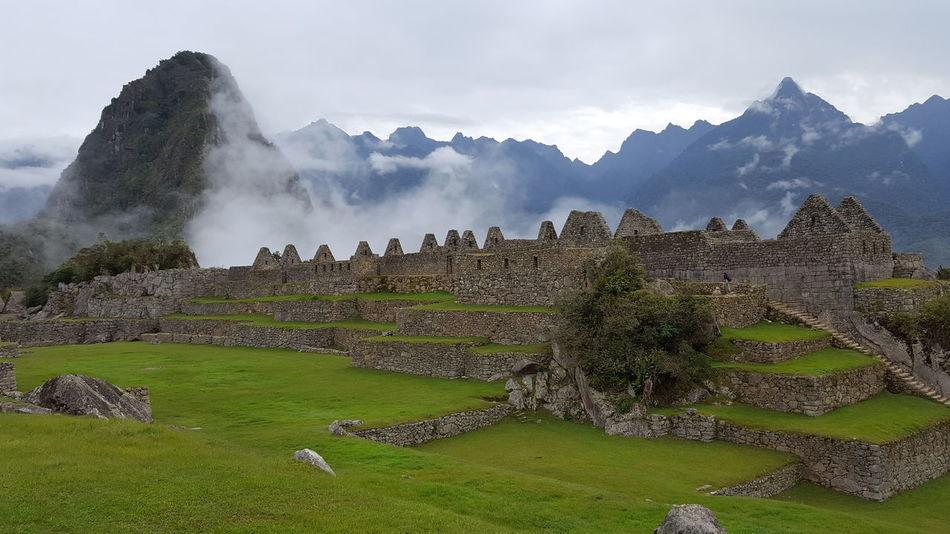 Inka History Peru Mountain Travel Destinations Landscape Outdoors Ancient Mountain Range Macchupicchu Macchu Picchu Sky Architecture Nature Been There.