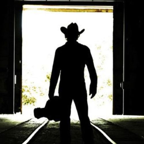 Good morning Cowboys & cowgirls. Happy Texastuesday . Cowboyhat Railroad guitar grainelevator siloutte