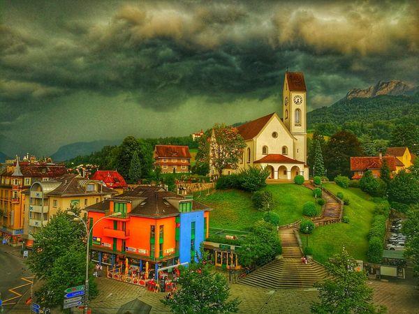 Storm Storm Cloud Nature Summer Kriens, Switzerland Pilatusberg EyeEmNewHere Coulds And Sky Mountpilatus