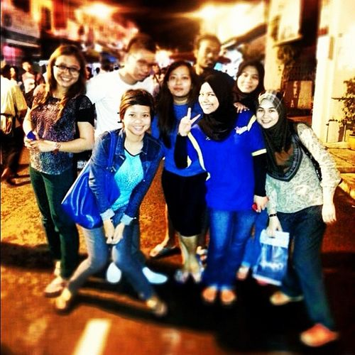 Melaka night. @ivyerny @johanachen @miameliaka puvan,k.zai,lily,fazree,najib and julene