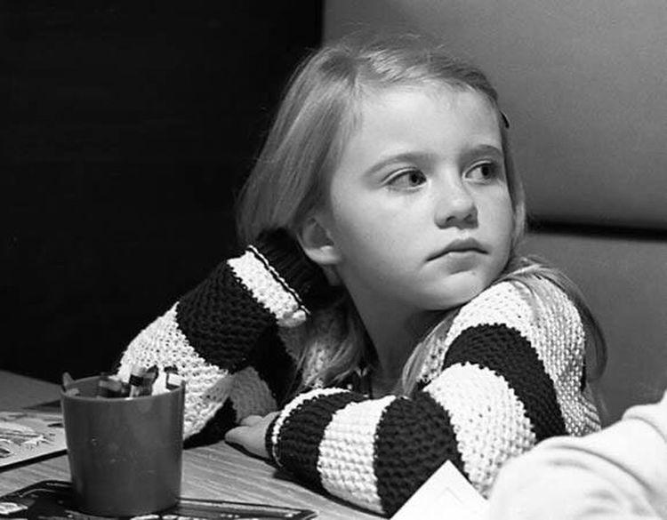 Childhood One Girl Only Children Only Olympus OM2n Black & White 35mmfilmphotography Kodak T-max 400