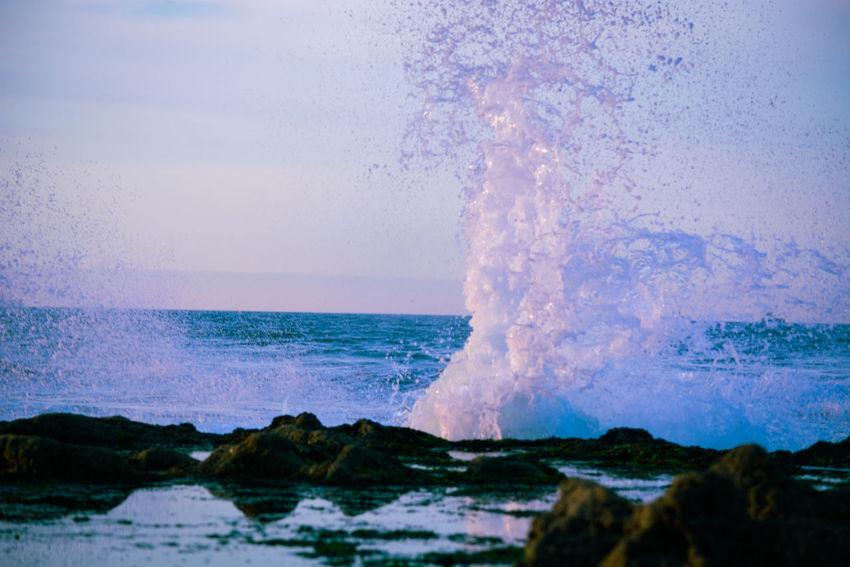 #ocean #beachlife #sand #waves #surf #paradise #water #playa #bikini #island #relax #sunrise #holidays #seaside #summertime #surfing #cloudporn #beachday #praia #hawaii #wave Sea Power In Nature Motion Beach Water Wave Horizon Over Water Sky Nature Day Beauty In Nature