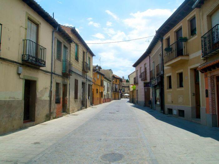 Segovia SPAIN Empty Streetphotography Street