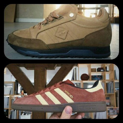 Samples from the Adidasmounfield Adidasmunchen that are coming out in two weeks..