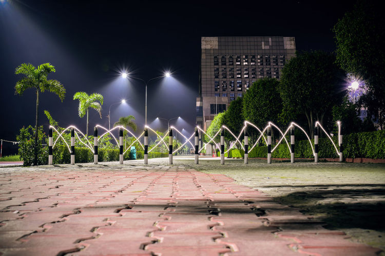 Streets of LPU at night Cities At Night Cities By Night Creative Shots EyeEm Best Shots Light Trails Long Exposure Shot Lovely Professional University Night Photography Nightphotography Punjab Shadows & Lights Street Lights In A Row Architectural Detail Architectural Feature Best Pictures Bestoftheday Buildings And Sky Cinematic Mood Full Frame Light Beams Long Exposure Night Photography Middle Of The Road Streets At Night Trees And Nature Wide Shot The Graphic City