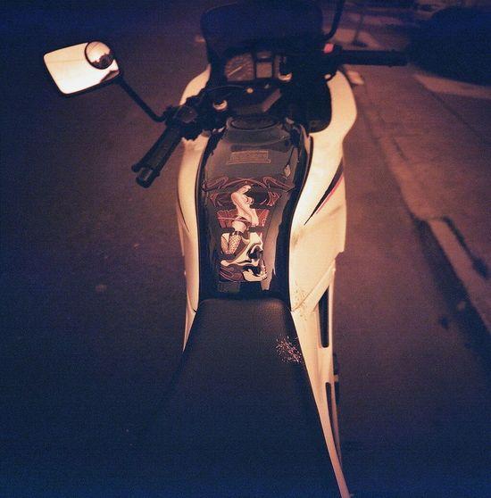 Koduckgirl Lca 120 Redscale Real Film Motorcycle My Hood >>>>