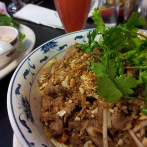 Food Vietnamese HaNoiQuan Manchester restaurant