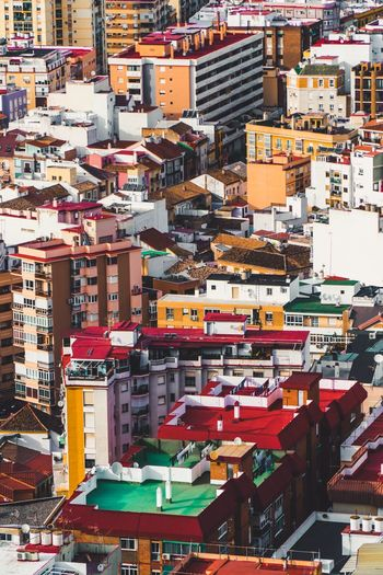 City Centre Background Photography Copy Space Málaga,España Malaga SPAIN Building Exterior City Architecture Built Structure Building Crowd Residential District Cityscape Travel Destinations Crowded City Life Multi Colored Full Frame Outdoors Street High Angle View
