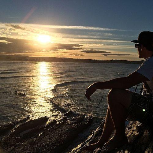 Whatanafternoon Solareclipse Sunset Ocean