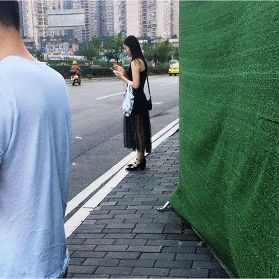 文艺重庆 | 041 Iphone6plus City Architecture Real People Women Street Full Length Adult