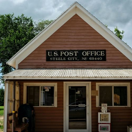 Postal Postcard Rural America A Day In The Life Rural Exploration Small Town Drive By Shooting Small Building Architecture Color Photography Check This Out