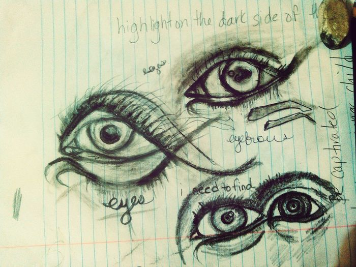 Sketching And Stuff Sketching The Eye Eyes Learning drawing