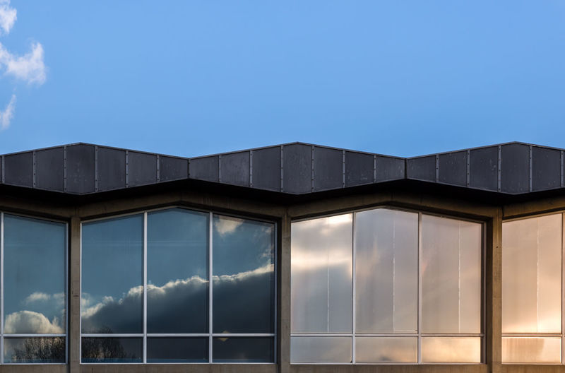 Architecture Blue Building Exterior Built Structure Cloud - Sky Day Nature No People Outdoors Sky Window The Graphic City