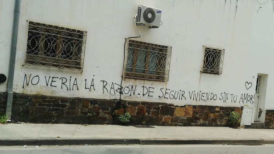 Graffiti Streetphotography Spinetta Rock Salta  Argentina No People Day Architecture City