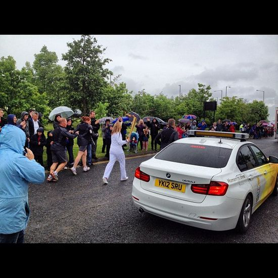 @mackem1 even though we gonna be outshon by @pringle79 here's my pic of the Olympictorch Herringtoncountrypark Sunderland Instatoday instahub instasport