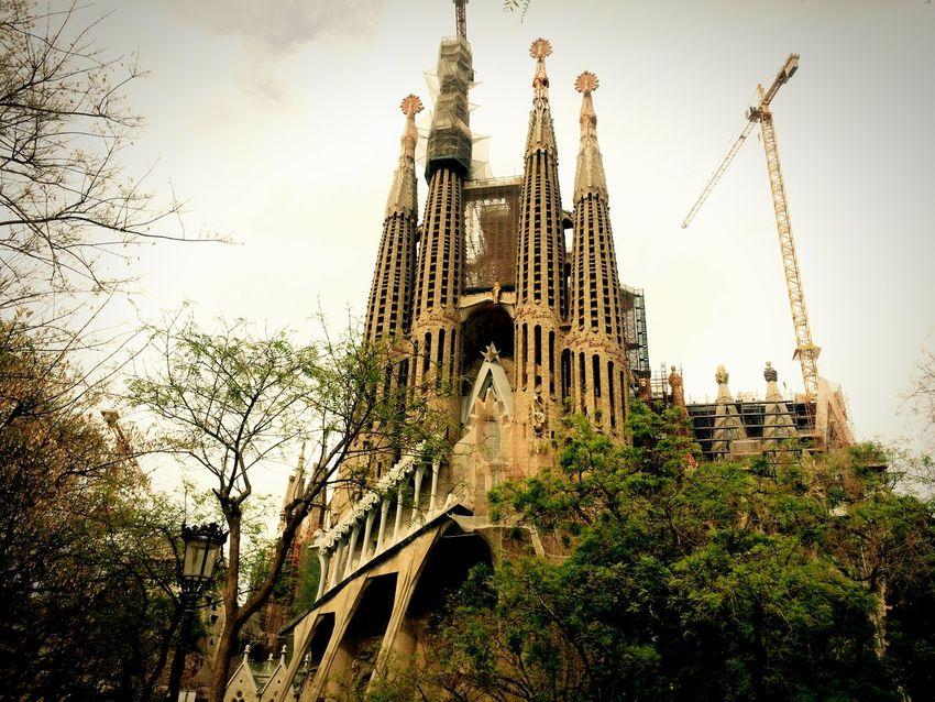 Church God Sagrada Familia Barcelona Cathedral Religion