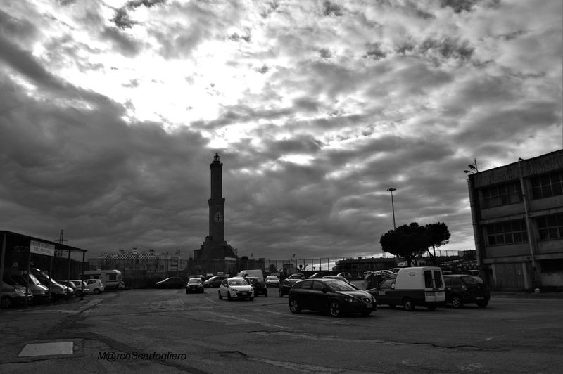 Architecture Blackandwhite Building Exterior Built Structure City Life Cloud Cloud - Sky Cloudy Direction Dusk Genova Guidance Lanterna Di Genova Low Angle View Outdoors Perspective Silhouette Sky Structure Sunset Tall Tall - High Tower Urban