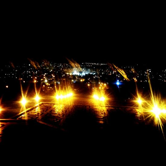 Night Illuminated No People Outdoors Sky