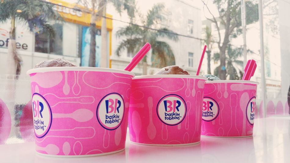 Colour Of Life Baskin Robbins SoSweet Friendship No People Loveit❤ Foodholic Delicious ♡ Musttry  Multi Colored My Year My View Food And Drink Mysister LovePotion Greentea