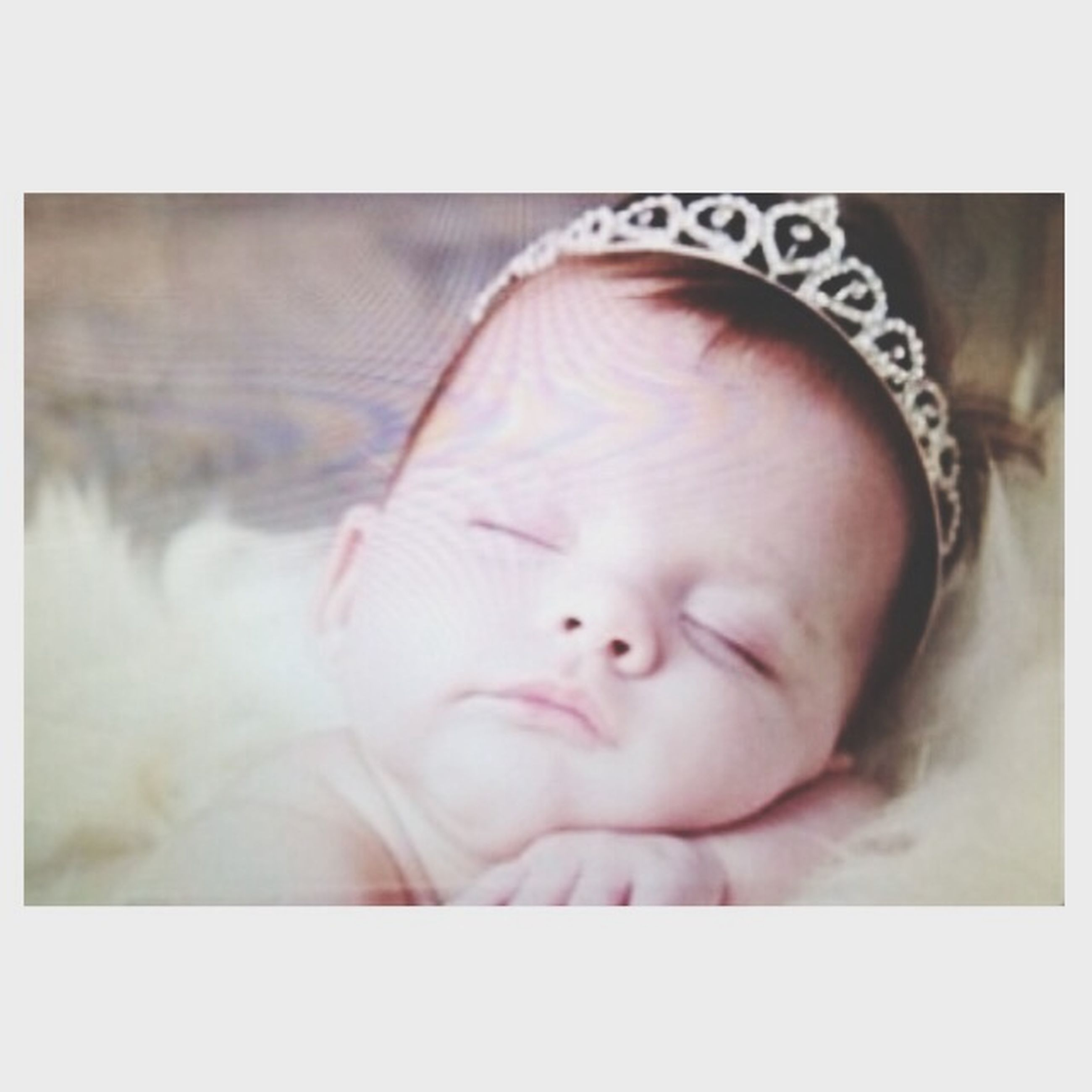 transfer print, auto post production filter, close-up, lifestyles, indoors, childhood, cute, person, innocence, headshot, relaxation, babyhood, leisure activity, baby, eyes closed, sleeping, human face